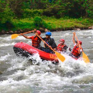 Rafting Lubuk Alung