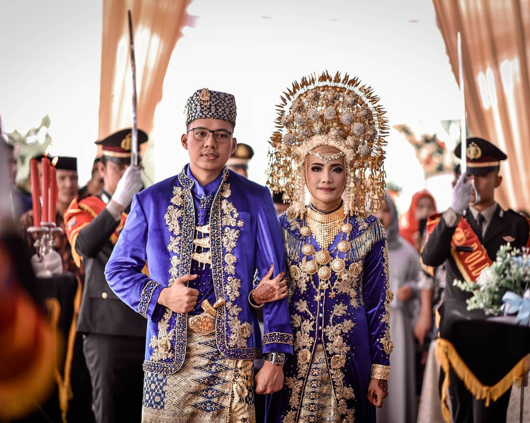 Jual Baju Pengantin Adat Minang Islami Terbaik di Padang